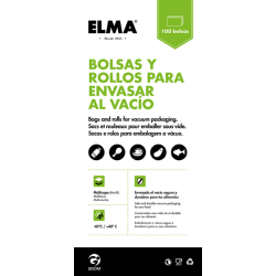 BOLSA GOFRADA 15*25CM (100UDS) UNIF