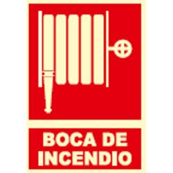 SEÑAL FOTOLUMINES BOCA INCENDIO EX014 UNIF