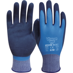 GUANTE WONDERGRIP AQUA LATEX WG318 T7 UNIF