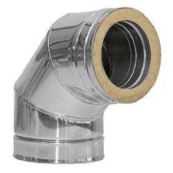 CODO INOX 316 D/P 150*90º DINAK