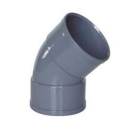 CODO PVC 110*45º