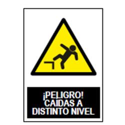 SEÑAL PELIGRO CAIDA DISTINTO NIVEL SA1004 UNIF