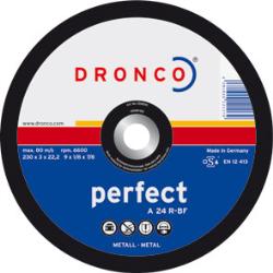 DISCO CORTE METAL 115*3*22 A24R DRONCO UNIF